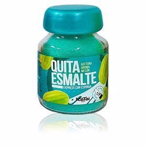 Nail polish remover QUITAESMALTE ESPONJA ACETONA aroma melón Katai Nails