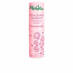 Lip balm NECTAR ROSAS stick labial hidratante Melvita