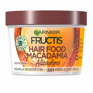 FRUCTIS HAIR FOOD macadamia mascarilla alisadora 390 ml