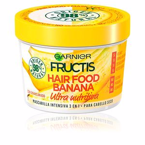 Hair mask for damaged hair FRUCTIS HAIR FOOD banana mascarilla ultra nutritiva Garnier