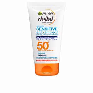 Faciales SENSITIVE ADVANCED anti-envejecimiento SPF50+ Garnier