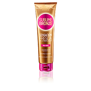 Faciales SUBLIME BRONZE sensación fresca gel autobronceador L'Oréal París