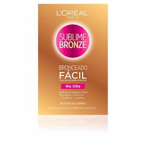 Facial SUBLIME BRONZE toallitas autobronceadoras cuerpo & cara L'Oréal París