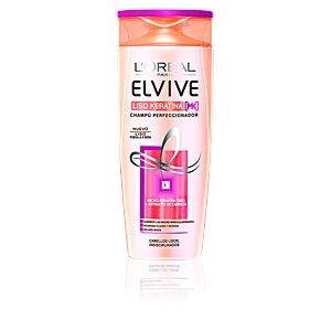L'Oréal París, ELVIVE liso keratina champú perfeccionador 370 ml