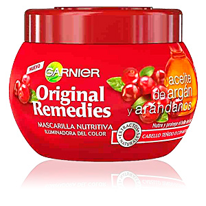 ORIGINAL REMEDIES mascarilla argán y arándanos 300 ml