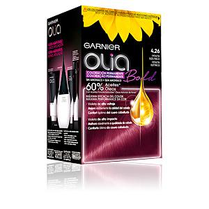 Tintes OLIA coloración permanente #4,26-violeta eléctrico Garnier