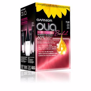 Haarfarbe OLIA coloración permanente #7,22-rosa neón Garnier