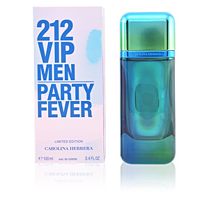 212 VIP MEN PARTY FEVER limited edition eau de toilette spray 100 ml
