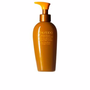 Gesichtsschutz BRILLIANT BRONZE quick self-tanning gel Shiseido