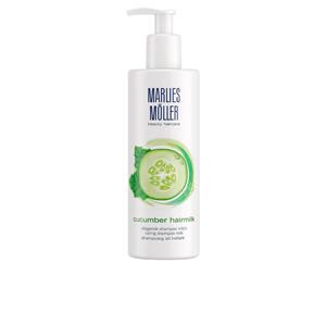 Feuchtigkeitsspendendes Shampoo HAIRMILK cucumber shampoo Marlies Möller