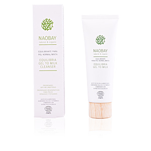 Cleansing milk EQUILIBRIA gel to milk cleanser Naobay