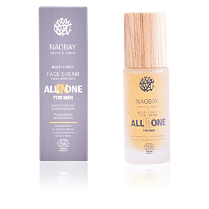 Antifatigue facial treatment MEN ALL-IN-ONE multi effect face cream Naobay