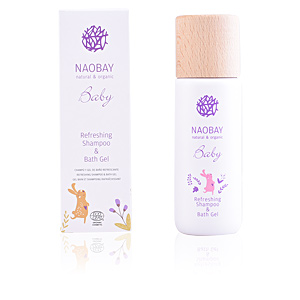 Gel bain BABY refreshing shampoo & bath gel Naobay