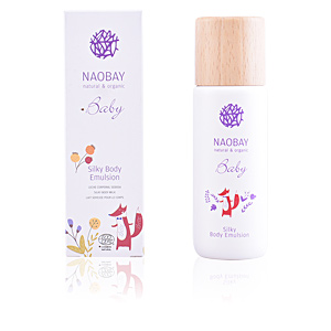 Hydratant pour le corps BABY silky body emulsion Naobay