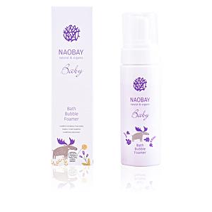 Shampoo hidratante BABY bath bubble foamer Naobay