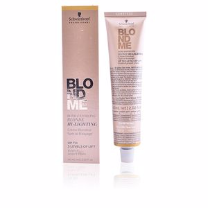 Dye BLONDME bond enforcing blonde hi-lighting Schwarzkopf
