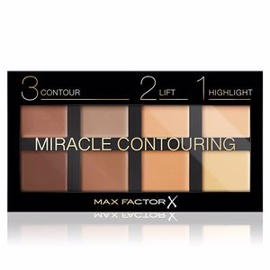 Base de maquillaje MIRACLE CONTOURING lift highlight palette Max Factor