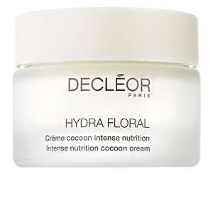 Soin du visage hydratant HYDRA FLORAL crème cocoon intense nutrition Decléor
