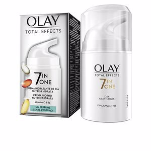 Anti aging cream & anti wrinkle treatment TOTAL EFFECTS 7 in 1 anti-edad hidratante sin perfume Olay