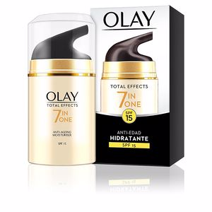 Anti aging cream & anti wrinkle treatment TOTAL EFFECTS anti-edad hidratante SPF15 Olay
