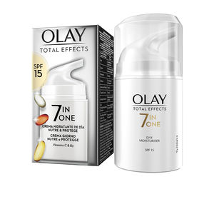Tratamiento Facial Reafirmante TOTAL EFFECTS anti-edad hidratante SPF15 Olay