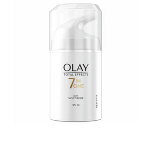 Skin tightening & firming cream  TOTAL EFFECTS anti-edad hidratante SPF30 Olay