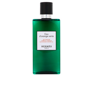 Shower gel EAU D´ORANGE VERTE hair & body shower gel Hermès
