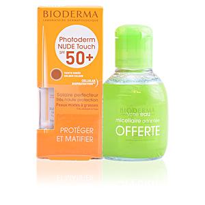 PHOTODERM nude touch SPF50+ #dorado +eau micellaire