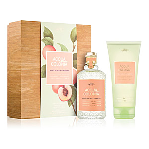 4711 ACQUA COLONIA WHITE PEACH & CORIANDER SET perfume