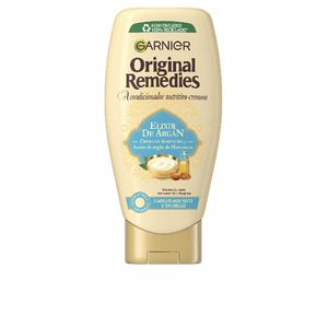 Hair repair conditioner ORIGINAL REMEDIES acondicionador elixir de argan Garnier