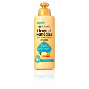 Hair repair treatment ORIGINAL REMEDIES crema sin aclarado elixir argan Garnier