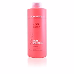 Produkte für glänzendes Haar - Conditioner für gefärbtes Haar INVIGO COLOR BRILLIANCE conditioner fine hair Wella