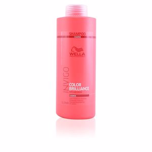 Shampoo for shiny hair - Colocare shampoo INVIGO COLOR BRILLIANCE shampoo coarse hair Wella