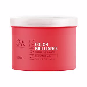 Hair mask - Hair mask INVIGO COLOR BRILLIANCE mask fine hair Wella