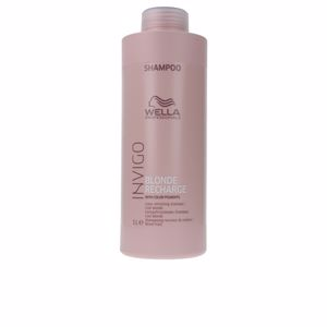 Shampoo proteçao de cor INVIGO BLONDE RECHARGE color refreshing shampoo Wella