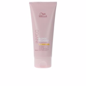 Conditioner for colored hair INVIGO BLONDE RECHARGE conditioner #warm Wella