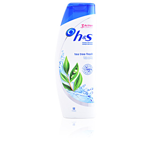 Shampooing antipelliculaire H&S TEA TREE FRESH limpia & purifica champú Head & Shoulders