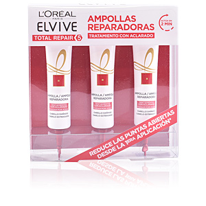 Hair repair treatment ELVIVE TOTAL REPAIR 5 AMPOLLAS REPARADORAS ZESTAW L'Oréal París