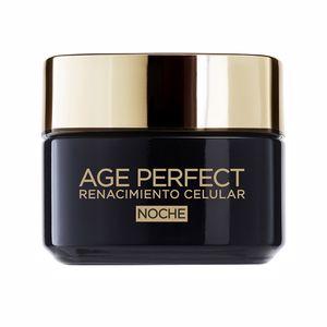 Skin tightening & firming cream  AGE PERFECT RENACIMIENTO CELULAR crema noche L'Oréal París