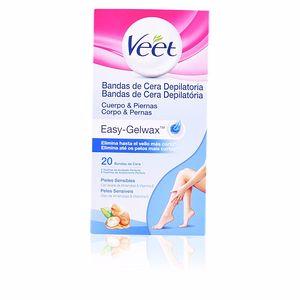 Enthaarungswachs BANDAS DE CERA depilatorias corporales piel seca Veet