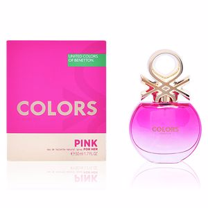COLORS PINK eau de toilette spray 50 ml
