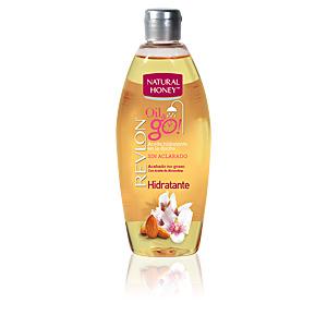 Hidratante corporal HIDRATANTE OIL & GO aceite corporal Natural Honey