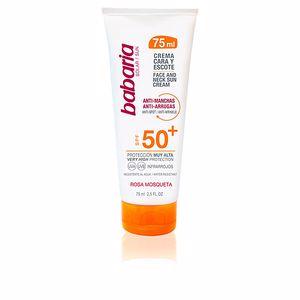 Faciales SOLAR CREMA CARA & ESCOTE anti-manchas SPF50+ Babaria