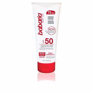 BB Cream SOLAR ADN BB crema solar rosa mosqueta SPF50 Babaria