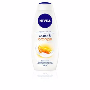 Gel bain CARE & ORANGE gel de ducha Nivea