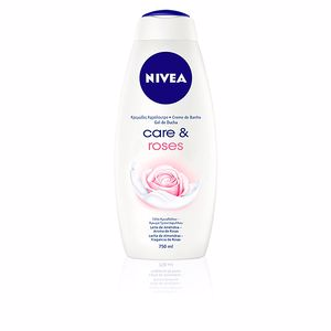 Duschgel CARE & ROSES shower cream Nivea