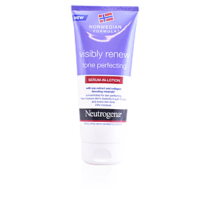 Body moisturiser VISIBLY RENEW tone perfecting body serum in lotion Neutrogena