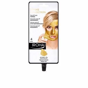Mascara facial GOLD peel-off firming mask Iroha