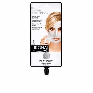 Mascara facial PLATINUM peel-off glowing mask Iroha