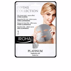 Face mask PLATINUM tissue hydra-glowing face mask Iroha
